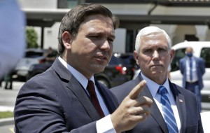 Florida Governor Ron DeSantis just went off on the media over coronavirus
