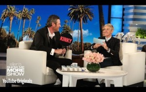 Blake Shelton Plays Kinky or Drinky with Ellen
