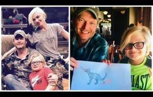 Blake Shelton and Zuma Rossdale Bonding Moments