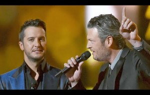 Blake Shelton Trash Talks Luke Bryan + It Gets Real