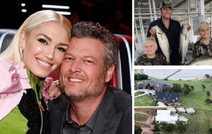 Blake Shelton and Gwen Stefani's Happiest Lake House Moments