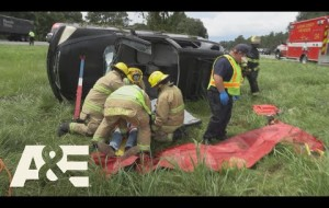 Live Rescue: Car Flips Over on Highway (Season 3) | A&E
