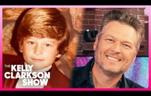 Kelly Teases Blake Shelton On Child Pageant Past