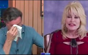 Dolly Parton Brings Her Interviewer To Tears