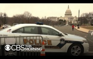 2 Capitol police officers suspended as FBI warns of more armed protests around the country