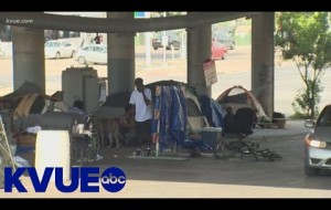 Texas leaders debate homeless camping bill