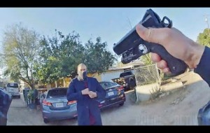 Bodycam Footage Shows Riverside Police Shooting Armed Parolee
