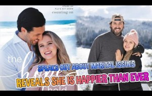 DUGGAR NEWS!!! Jinger Duggar Reveals She Is Happier Than Ever, Speaks Out About Marital Issues