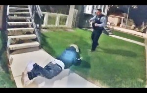 Bodycam Footage of Chicago Cop Shooting Armed Man Who Was Running Away