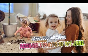 DUGGAR ADORABLE!!! Jessa Duggar Share Adorable Photo Of Ivy Jane