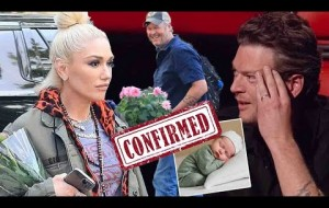 'I'm going to have a baby!' Blake Shelton cries as Gwen Stefani reveals pregnancy on Mother's Day